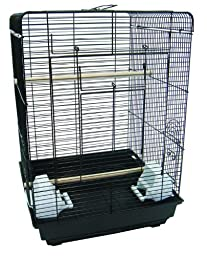 YML 3/8 Flat Top Cage, Black, 16 by 16-Inch