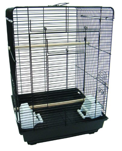 Cheap YML 3/8 Flat Top Cage, Black, 16 by 16-Inch (1624BLK)