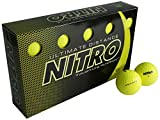 Nitro Ultimate Distance Golf Ball (15-Pack), Yellow