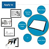 MSRM Led Light Pad A3 Size 23.5 Inch Tracing Light Box/Light Table Super Bright with Adjustable Light Intensity for Tattoo, Animation, Sketching, Designing, Stenciling and X-ray(A3)