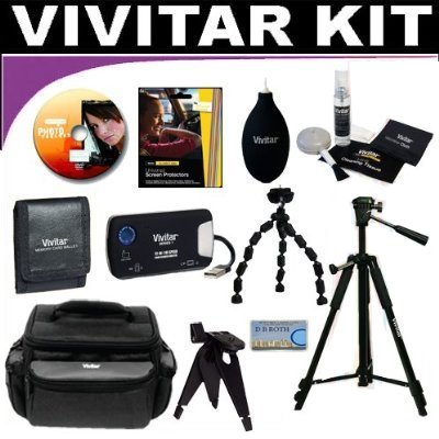 "Best savings for 50 PC Fantasy Kit ""The Kit Of Your Dreams"" Which Includes Lenses, Filters, Cases, Battery Grip, Batteries, Remote, Lens Hood, Macro Accessories, Tripods, Cleaning Supplies And So Much More (Valued At Over $850) For The Nikon D40, D40X, D60 Digital Slr Cameras Which Have Any Of These (18-55mm, 55-200mm, 50mm) Nikon Lenses"