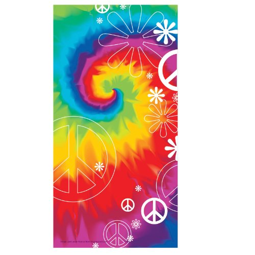 Creative Converting 205141 Tie Dye Cello Bags