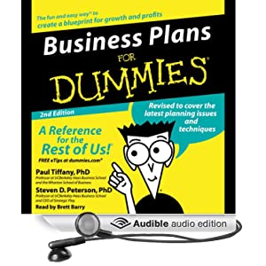 Business Plans For Dummies Second Edition