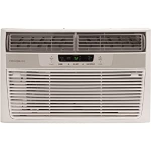 Frigidaire FRA086AT7 8,000 BTU Window-Mounted Compact Air Conditioner with Temperature Sensing Remote