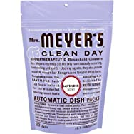 Mrs Meyers Clean Day 14164 Mrs. Meyer's Clean Day Dishwasher Detergent Soap Packs