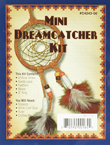 Leathercraft Kit-Mini Dreamcatcher