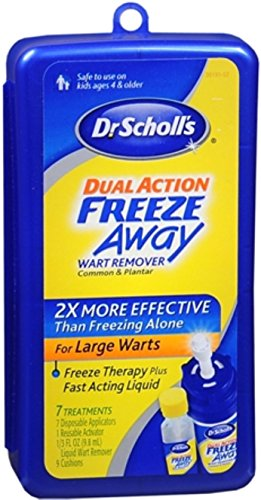 Dr. Scholl's Dual Action Freeze Away Wart Remover 7 Each (Pack of 2) (Freeze Away Wart compare prices)