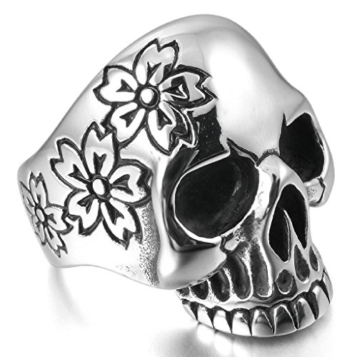 epinkifashion-jewelry-mens-stainless-steel-ringss-band-silver-black-skull-flower-handmade-gothic-siz