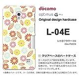 docomo Optimus G Pro L-04E ケース Optimus G Pro L-04E カバー ケース・ジャケット【レトロフラワー059/l04e-PM059】
