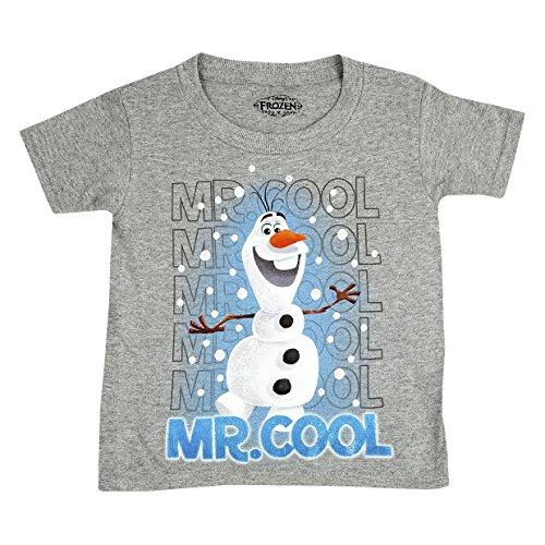 Disney Frozen Olaf Boys' Short Sleeve Tee - Mr Cool (4T) front-93300
