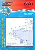 echange, troc Cartes Epshom - Carte marine : Ile de Groix à Belle-Ile
