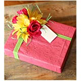 Western Promotions Blooming Wrap Plantable Wrapping Paper, in Honeysuckle