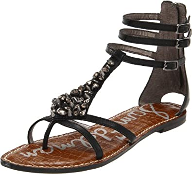 Sam Edelman Women's Georgina Gladiator Sandal,Black,6 M US
