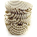 Norpro 3441 100-Pack Gold Swirl Mini Cups