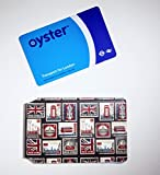 New smaller oyster card wallet - souvenir London stamps design