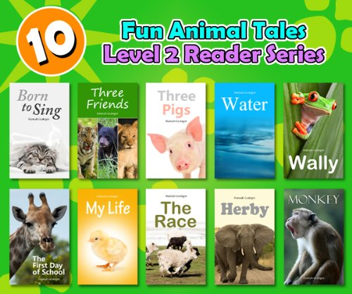 Free Kindle Book : 10 Fun Animal Stories - Level 2 Reader Collection