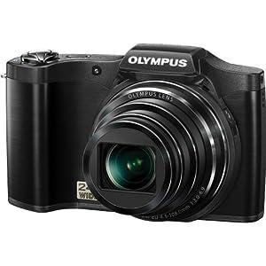 Olympus SZ-12 14MP Digital Camera with 24x Wide-Angle Zoom (Black)