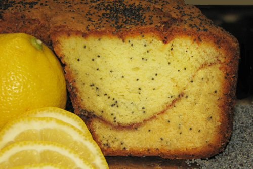 Lemon Poppy Coffee Cake