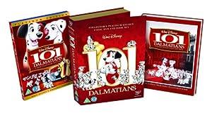 101 Dalmatians Platinum Edition - Deluxe Book Pack [DVD] [1961]