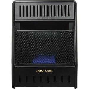 ProCom Vent-Free Propane Ice House Heater -10,000 BTU, 300 Sq. Ft. Heat...