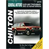 Chevrolet Blazer, Jimmy, Typhoon, and Bravada, 1983-93 (Chilton's Total Car Care Repair Manuals)