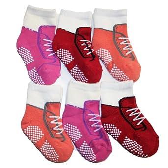 MARY JANE /& BUSTER Girls 0-6M Socks Pack of Six