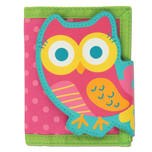 Stephen Joseph Teal Owl Wallet