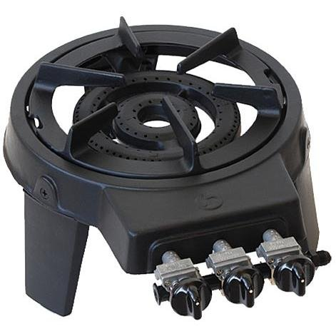 Portable Cast Iron Single Burner Outdoor Fryers And
