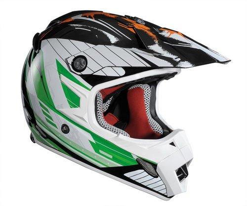 Lazer 1203404017XXS mX8-stargate-noir/orange/vert taille xXS