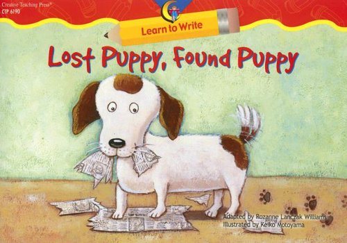 Lost Puppy, Found Puppy (Learn to Write Readers)