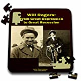 Sandy Mertens Writers World - Will Rogers From Great Depression to Great Recession - 10x10 Inch Puzzle (pzl_26362_2)
