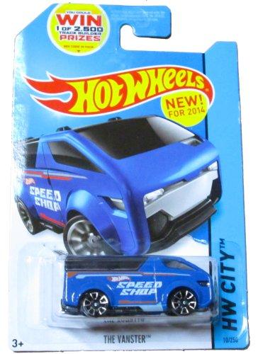 Hot Wheels HW City - 10/250 - The Vanster (Blue)