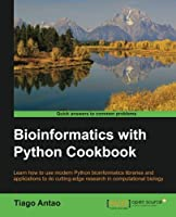 Bioinformatics with Python Cookbook Front Cover