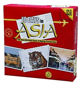 ... of the Box 10 Days in Asia Board Garme, Board Games - Amazon Canada