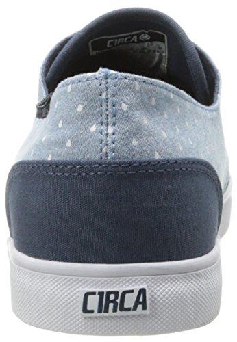 C1RCA Men's AL13 Fashion Sneaker,Mood Indigo/Raindrop Chambray,7 M US