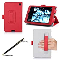Fire HD 6 Case - ProCase Stand Folio Protective Cover Case for Amazon Fire HD 6 Tablet (will only fit Fire HD 6, 2014 Edition), comes wth bonus procase stylus pen by ProCase