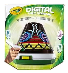 Crayola Digital Light Designer With Crayola Ac Power Adapter Toys Games