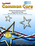 img - for TestSMART  Common Core Mathematics Work Text, Grade 3, Book II - Number and Operations-Fractions and Measurement and Data book / textbook / text book