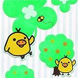 Pegatinas reflectantes Rilakkuma pollito amarillo Kiiroitori