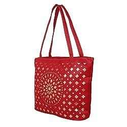 Glory Fashion Women's Stylish Handbag Red BB-001-B00172