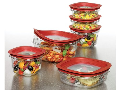 Rubbermaid 12-Piece New Premier Food Storage Container Set