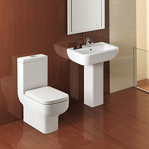Kompact 600 1TH 4 Piece Bathroom Suite by John Louis Bathrooms