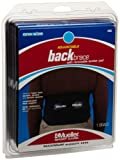Mueller Adjustable Lumbar Back Brace, Black, One Size Fits Most, 1-Count Package