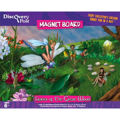 Fairy Magnet Board Diorama-Nearly 3' Long - 1