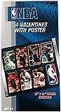 Paper Magic NBA Valentine Exchange Cards with Bonus Poster (34 Count)