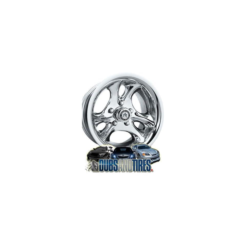 15 Inch 15x10 AMERICAN RACING PERFORM wheels VENTURA Chrome wheels rims