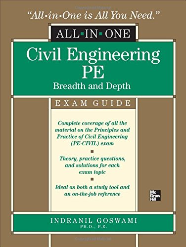 Civil Engineering All-In-One Pe Exam Guide: Breadth And Depth front-999650