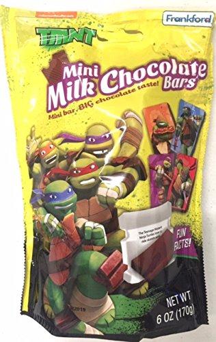 TMNT Mini Milk Chocolate Bars (6 oz Bag) (Ninja Turtles Candy compare prices)