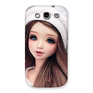 Gorgeous Innocent Angel Doll Multicolor Back Case Cover for Galaxy S3