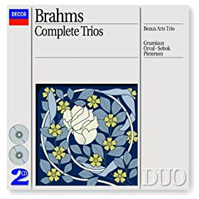 Brahms: Piano Trio No.2 in C, Op.87 - 1. Allegro